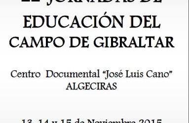 II Jornadas de educación del Campo de Gibraltar