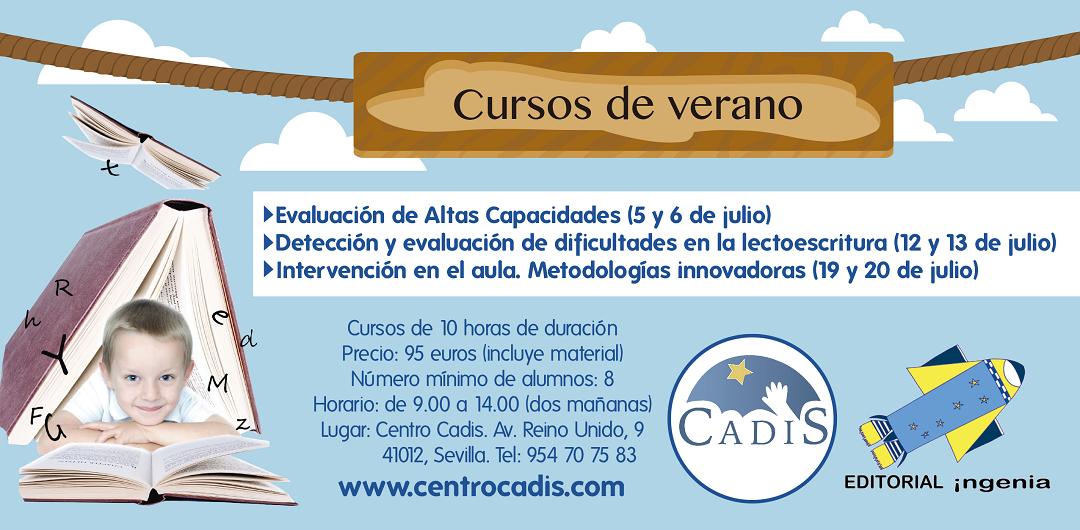 Centro Cadis abre el plazo de matriculación de los cursos de verano