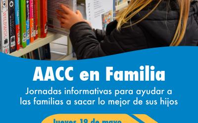 Nueva sesión el jueves de AACC en Familia