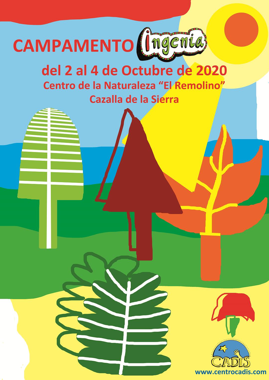 CARTEL CAMPAMENTO OCTUBRE 2020